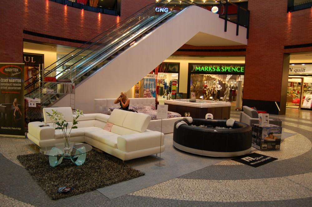 Obchodní Centrum Chodov 2012 srpen